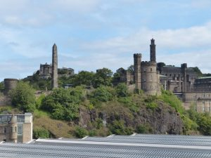 Edinbugh Waverley to Calton Hill