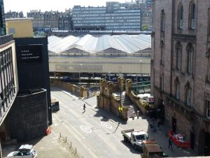 Edinburgh Waverley Calton Road Exit