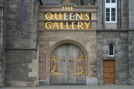 The Queen's Gallery at Palace of Holyroodhouse