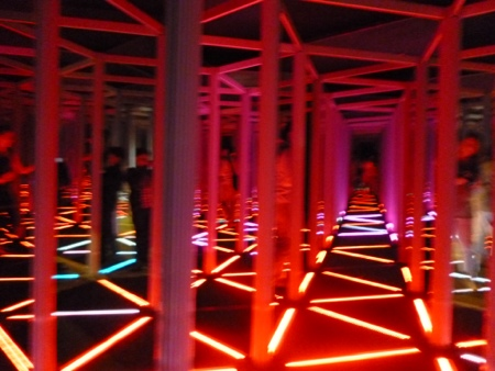 The Mirror Maze at the Camera Obscura, Edinburgh