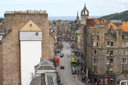 View from Camera Obscura, Edinburgh