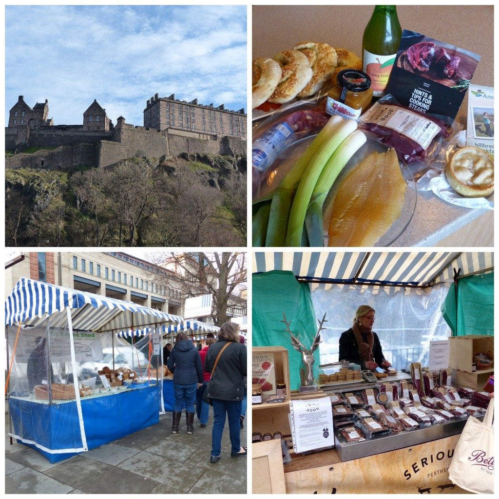 Farmers' Market every Saturday in Edinburgh