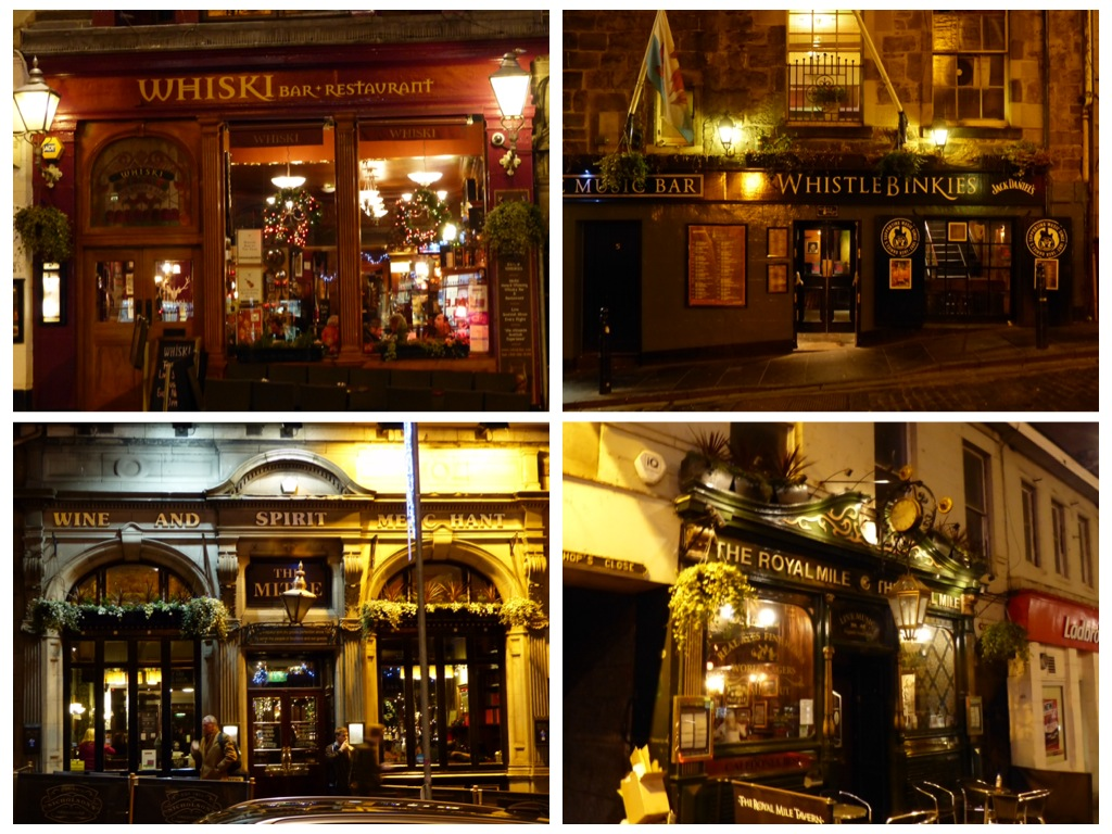 pubs in the royal mile, Edinburgh