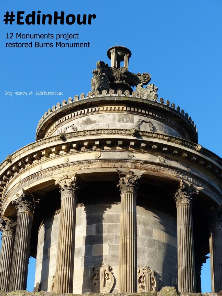 burns Monument edinburgh