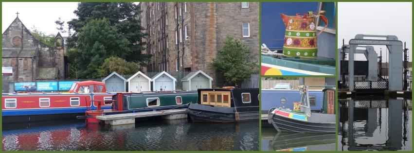 A walk by the canal, Edinburgh