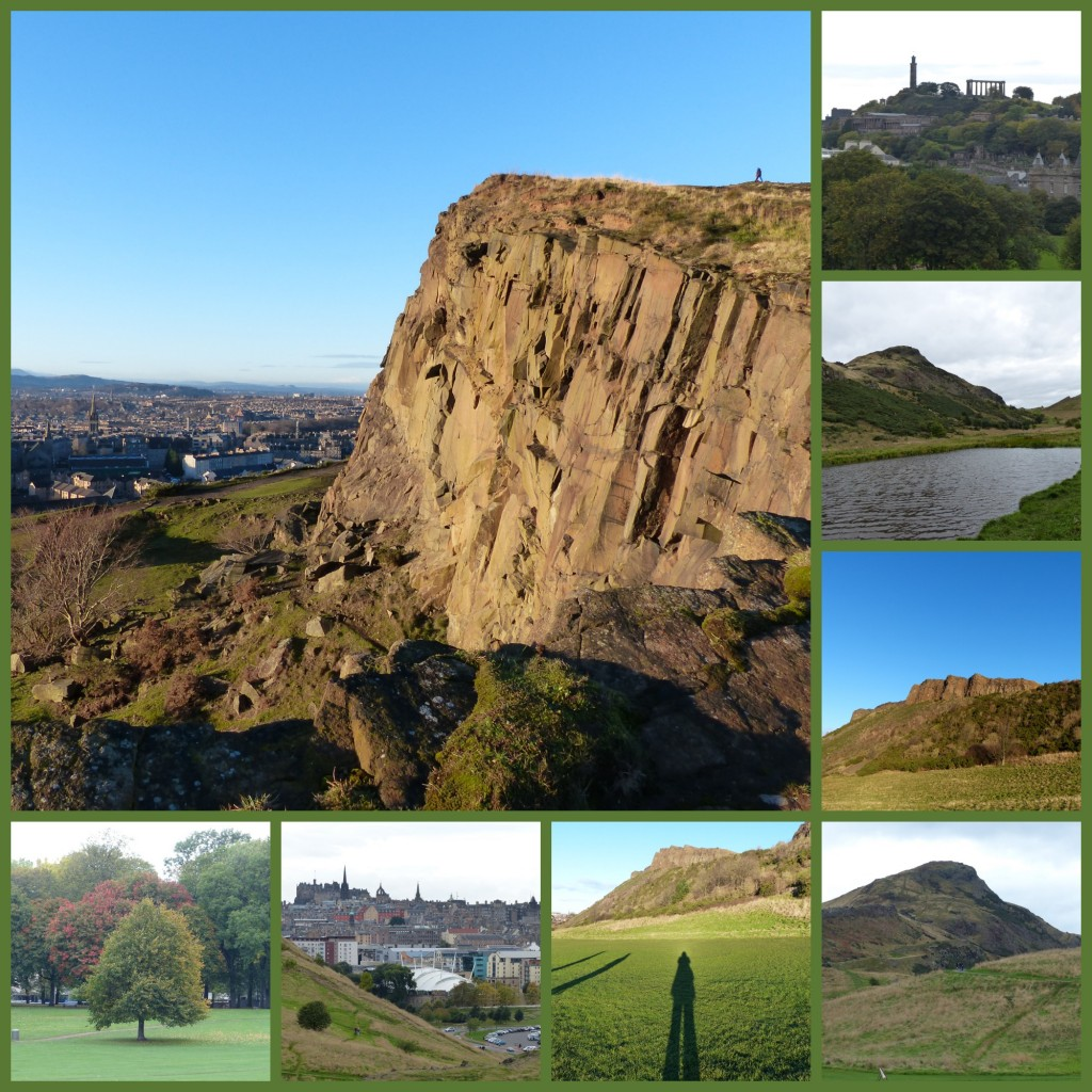 visiting holyrood park, edinburgh