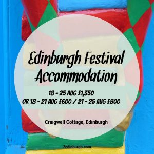edinburgh fringe accommodation