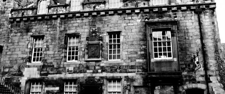 Outlander Exploring on the Royal Mile