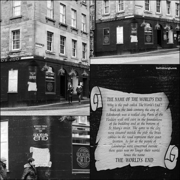 The World's End Public House, Edinburgh