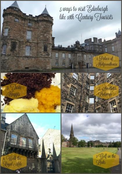 5 ways to visit edinburgh
