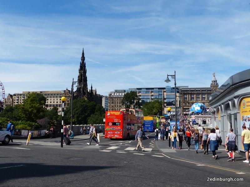 Edinburgh Bus Tours from Waverley Bridge