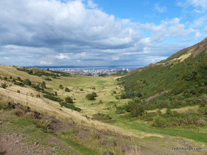 view over Hunter's Bog