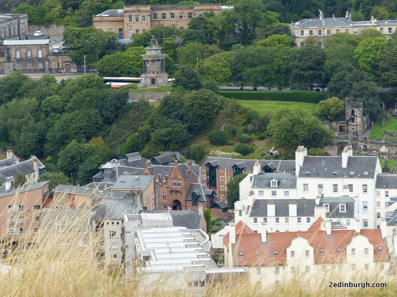 Craigwell Cottage from Salisbury Crags