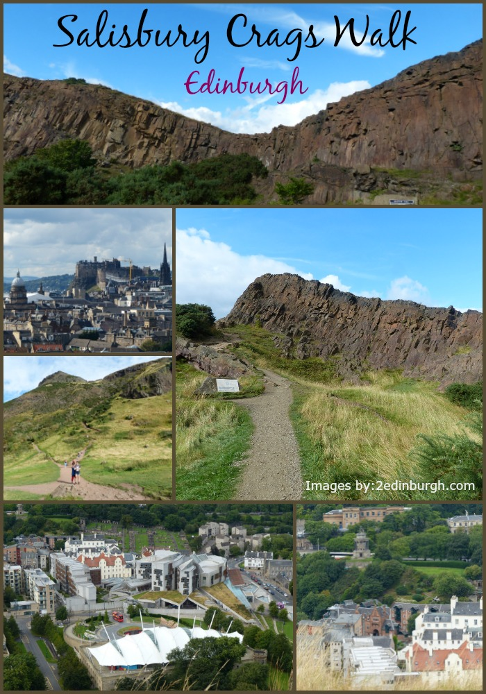 Salisbury Crags Walk Edinburgh