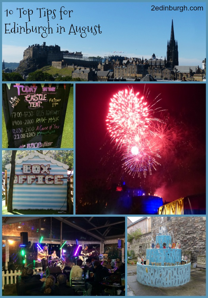 August edinburgh festivals