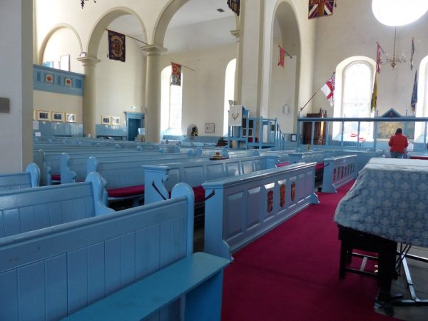 Pews in Canongate Kirk