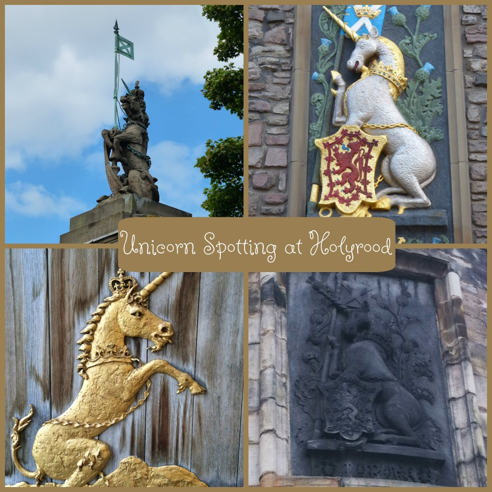 Unicorn Spotting at Palace of Holyroodhouse