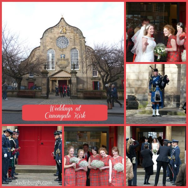 weddings at canongate kirk edinburgh