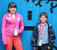 Our family review team for the Edinburgh Fringe Festival