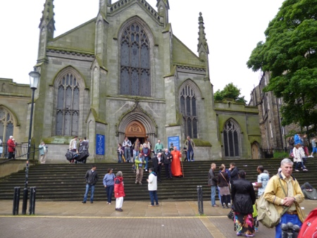 Cardinal Keith O'Brien at St Mary's RC Cathedral, Edinburgh
