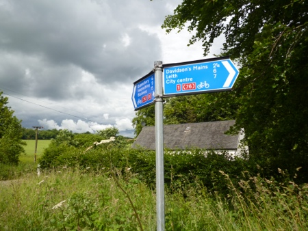 The first stage follows Cycle Route 1