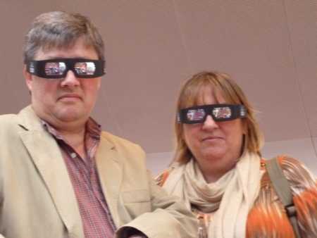 Brave the Movie - donning the 3D shades