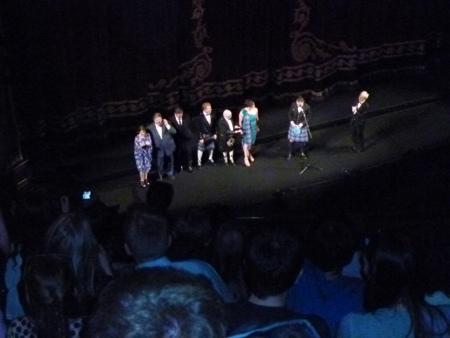 Brave Movie Stars on stage at Edinburgh Festival Theatre
