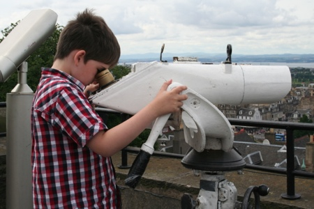 Free telescopes - Camera Obscura, Edinburgh