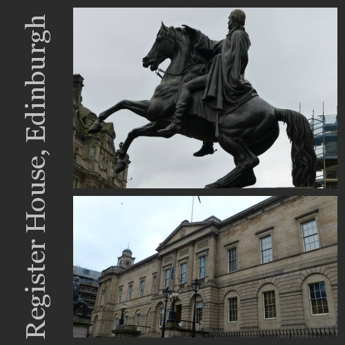 Ancestral Research Register House Edinburgh