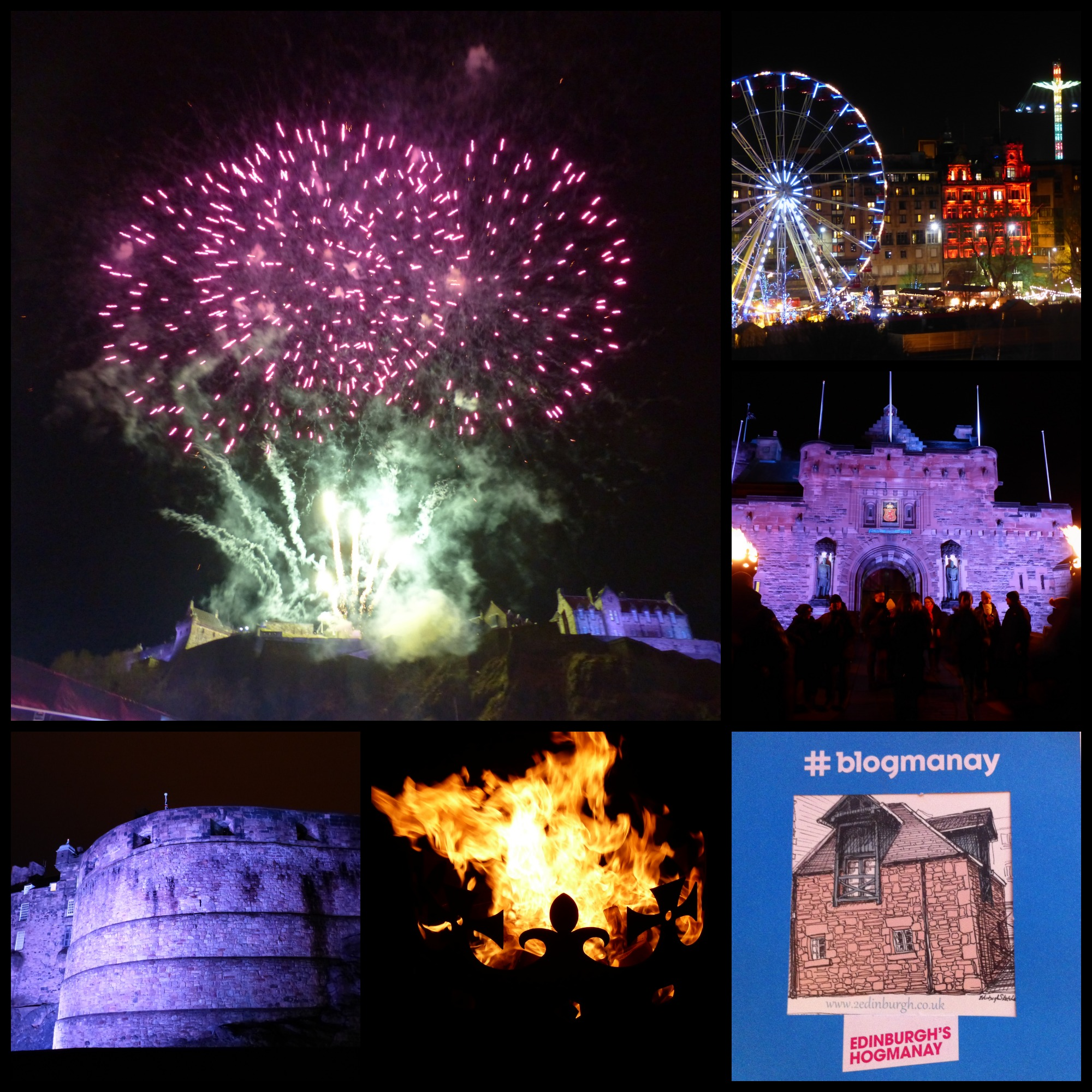 Bring in the New Year in Edinburgh #blogmanay