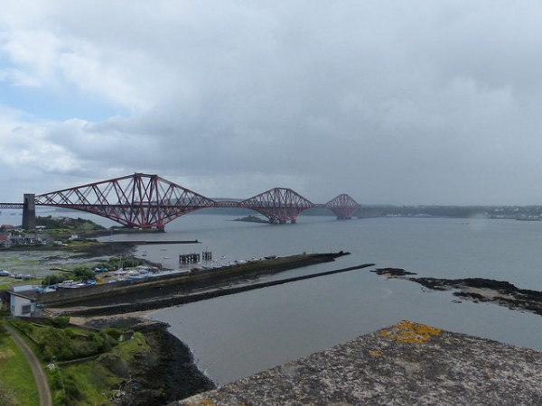 View towards the Forth Bridge