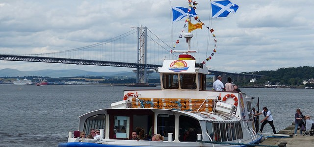 Cruising the River Forth on the Forth Belle to Inchcolm Island