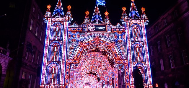 Lighting up for Edinburgh's Christmas 2015