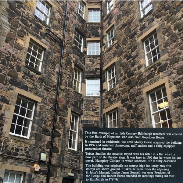 St John's Land Edinburgh Tenement