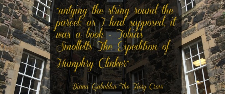 Outlander Connections in Edinburgh – Tobias Smollett