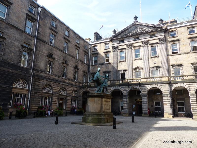 peace and quiet during Edinburgh Fringe