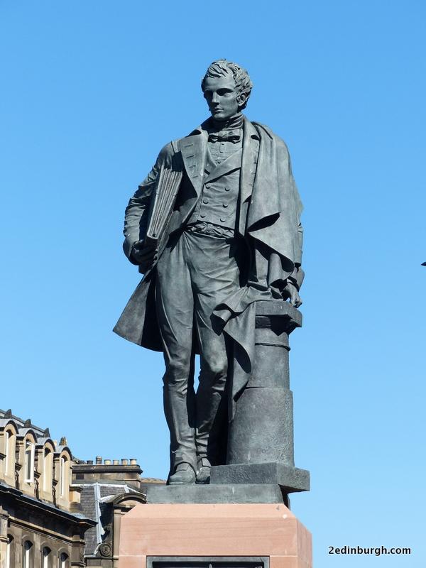 statue of william henry playfair