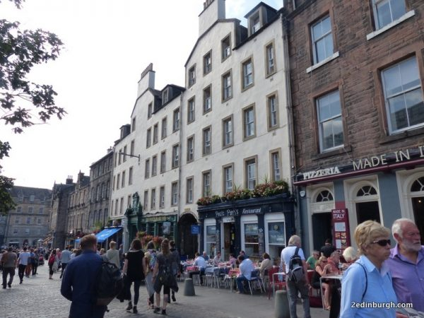 Rest a while in the Grassmarket