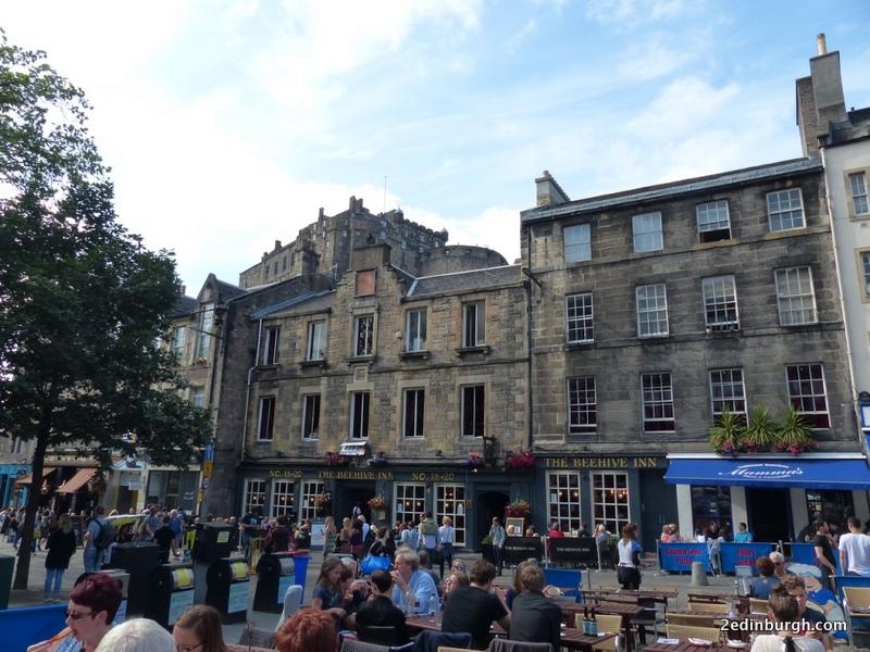 cafes and pubs grassmarket