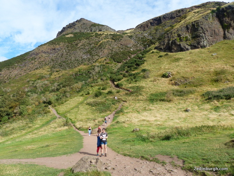 Path to Arthur's Seat
