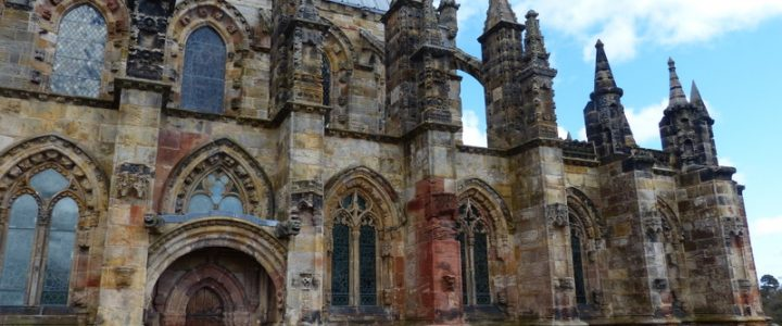 Rosslyn Chapel Visit and a Walk in Roslin Glen