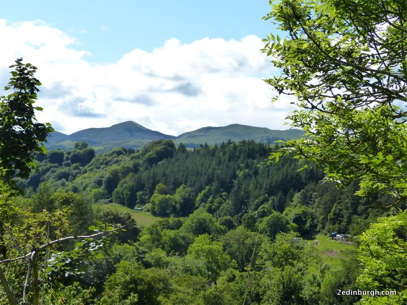 roslin glen walk and pentland hills