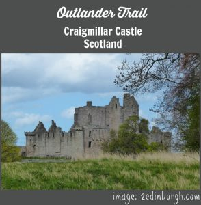 outlander trail craigmillar castle edinburgh