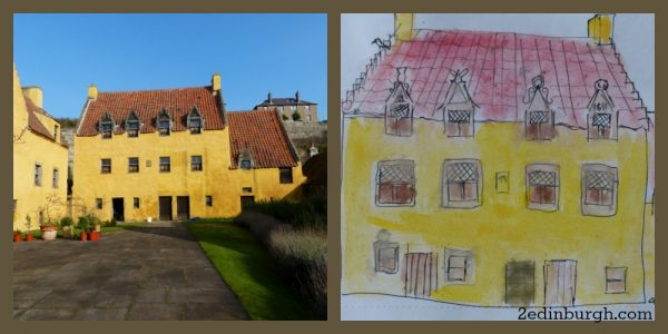 Culross with edinburgh sketcher