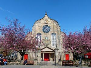 spring at Canongate Kirk, Edinburgh