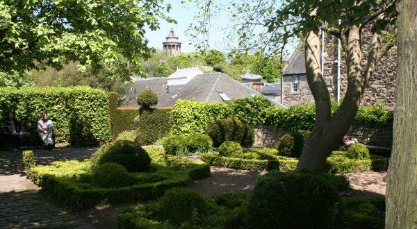 Edinburgh Old Town Dunbars Close Garden