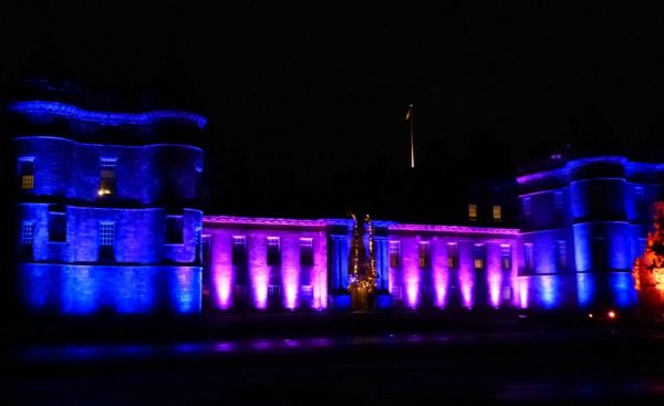 palace of holyroodhouse lighting