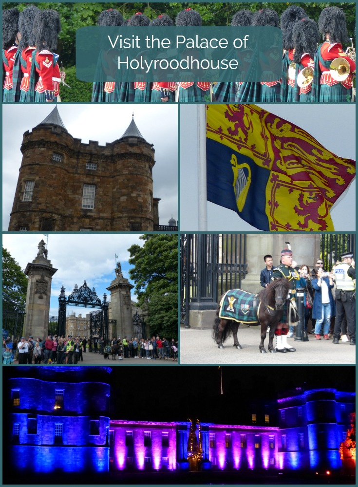 visit the palace of holyroodhouse