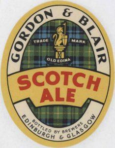 gordon blair scotch ale