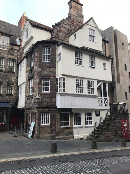 Edinburgh Old Town Walk John Knox's House